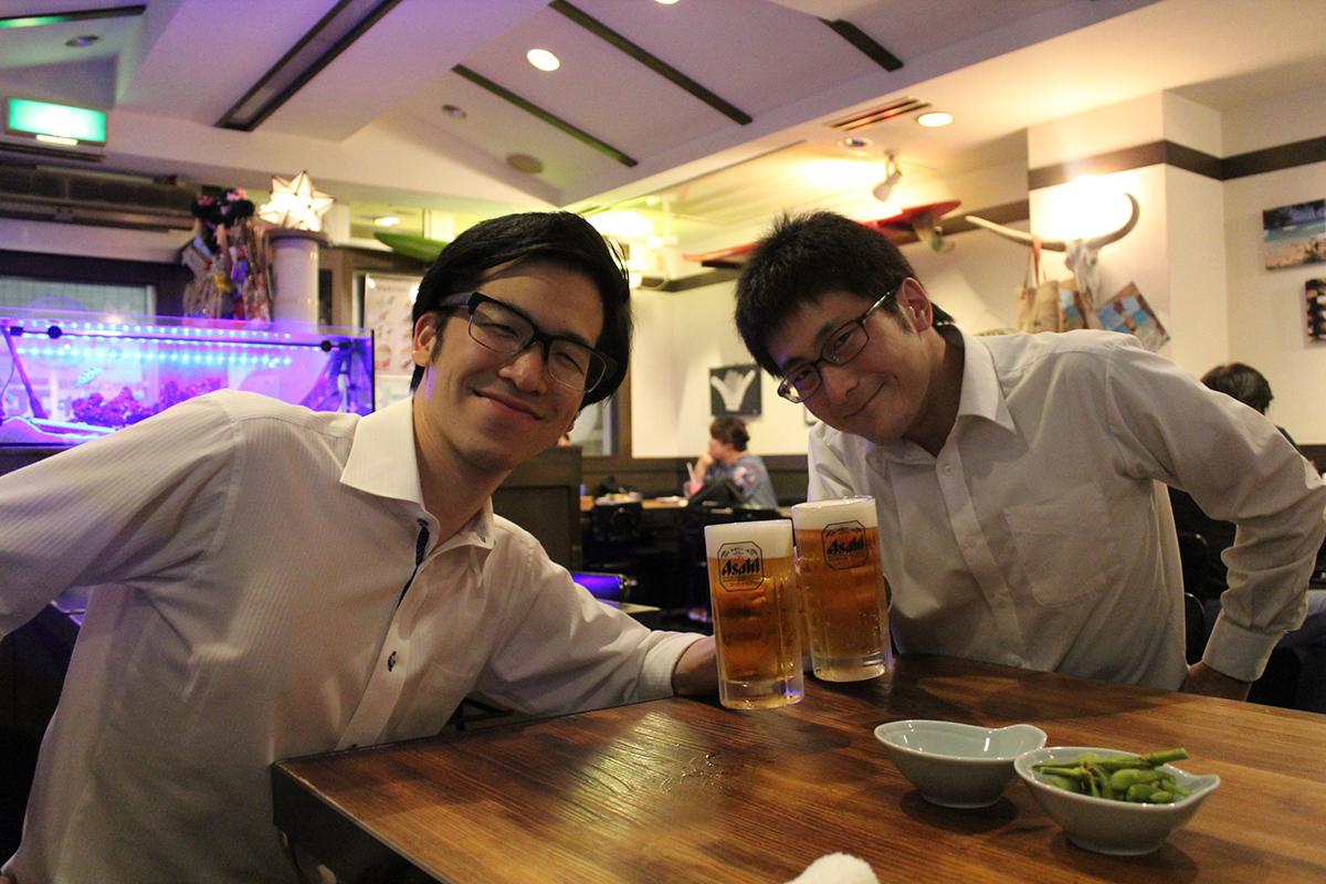 12ビール乾杯1